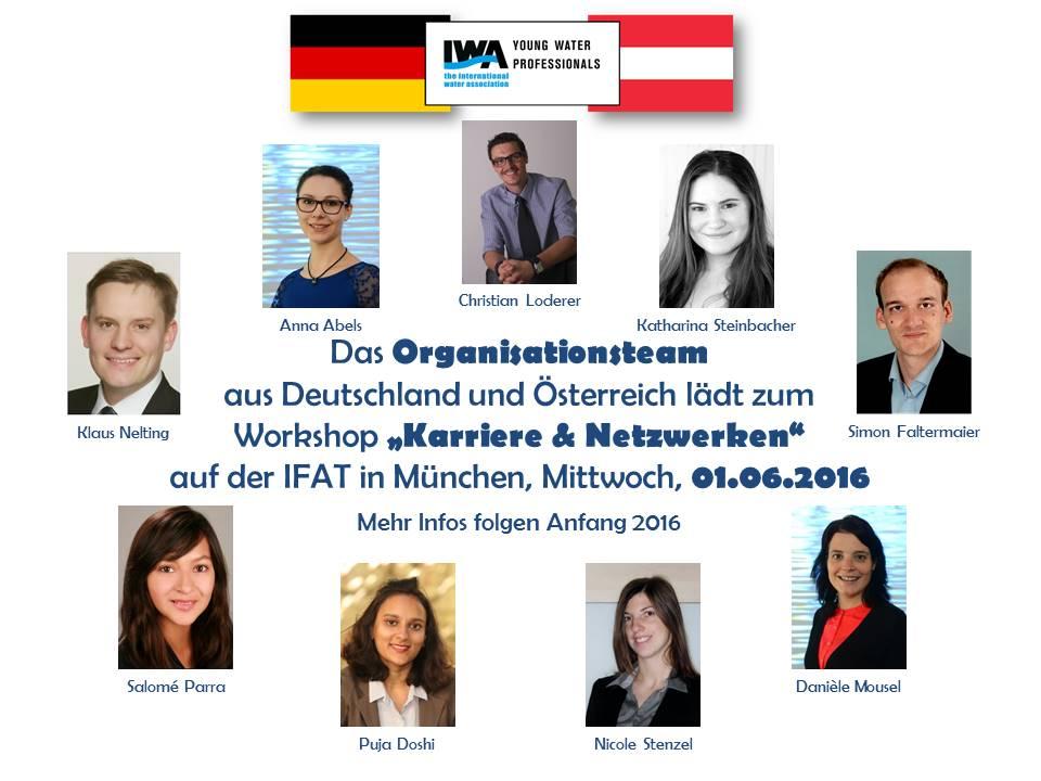 Das Organisationsteam lädt zum Workshop IFAT 2016
